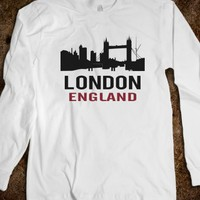 London England Long Sleeve Tee