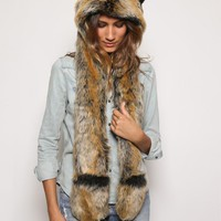 Red Wolf SpiritHood