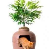 Good Pet Stuff Hidden Litter Litter Box:Amazon:Pet Supplies