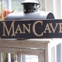 Mancave handpainted