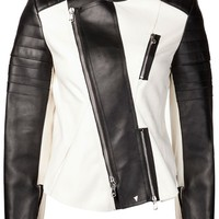 3.1 Phillip Lim Cropped Motorcycle Jacket - Traffic Women - Farfetch.com