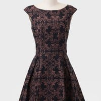 Hotel Meurice Brocade Dress
