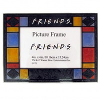 Friends Stained Glass Frame
