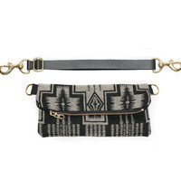Vida Fanny Pack made with genuine Pendleton wool