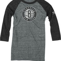 Ladies 3/4 Sleeve Brooklyn Nets Raglan Shirts at NetsStore.com