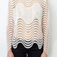 sass & bide |  HONOUR AMONG THIEVES - ivory | tops |