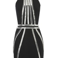 sass & bide |  THE TOP D - black & silver | dresses | sass & bide