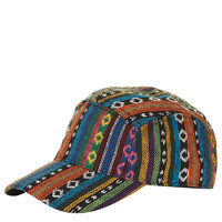 Aztec Fabric Baseball Cap - Hats - Bags & Accessories - Topshop USA