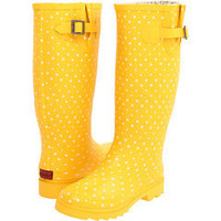 Chooka Posh Dots Tall Yellow - Zappos.com Free Shipping BOTH Ways