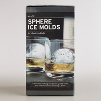Sphere Ice Molds, Set of 2 | World Market