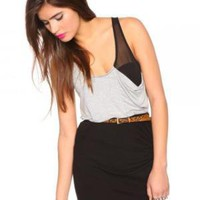 Chiffon Racerback Tank | NASTY GAL | Jeffrey Campbell shoes, Evil Twin, MinkPink, BB Dakota, vintage dresses + more!
