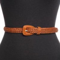 Braided Skinny Belt - Tan | NASTY GAL | Jeffrey Campbell shoes, Evil Twin, MinkPink, BB Dakota, vintage dresses + more!