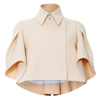 Pleated Sleeve Jacket by DELPOZO - Moda Operandi