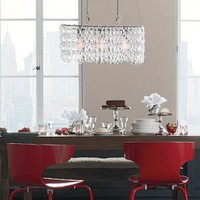 Glass Link Chandelier | west elm