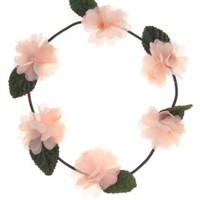 New Look Mobile | Apricot Flower Garland Headband