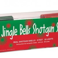 Keystone Products Jingle Bells Shotgun Shells Christmas Lights:Amazon:Home & Kitchen