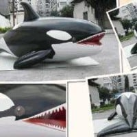 Giant Inflatable Orca - Lazybone