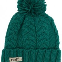neff Women's Kaycee Beanie Hat, Ceramic, One Size