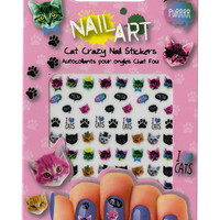 Nail Art Cat Crazy Nail Stickers | Hot Topic