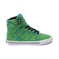 Womens Supra Skytop Skate Shoe, Turquoise Yellow | Journeys Shoes