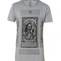 All Saints Cards Reg Fit Tee