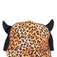 Devil Wears Leopard Trucker Hat | 2020AVE
