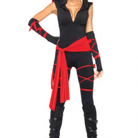 Leg Avenue 5PC Deadly Ninja Costume
