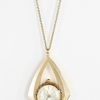 Urban Outfitters - Diamond Watch Pendant