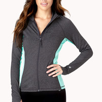 Heathered Running Jacket
