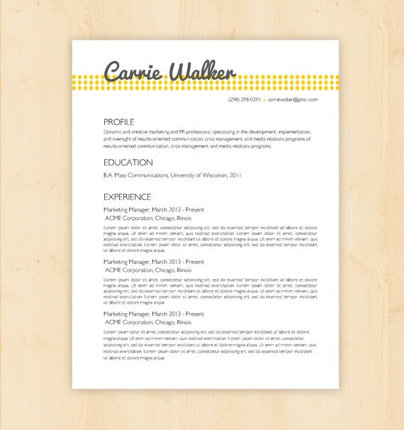 resume template cv template the from phd press business