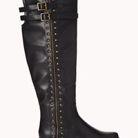 Total Stud Over-the-Knee Boots