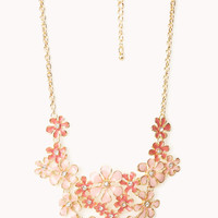 Heirloom Floral Bib Necklace
