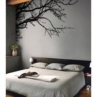 "Amazon.com: Vinyl Wall Decal Sticker Tree Top Branches (M) 100"" W X 44"" H: Everything Else"