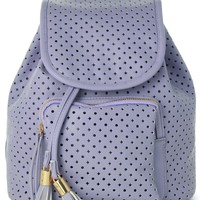 Starry Cut Out Purple Backpack