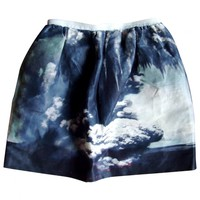 Volcano-print skirt CARVEN Multicolour