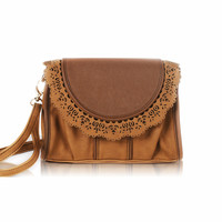 Vintage Lace Hollw Out Satchel