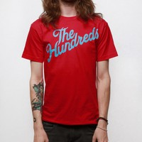 The Hundreds Forever Slant Logo T-shirt - Red