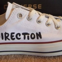 One Direction CONVERSE. Hand-Painted.