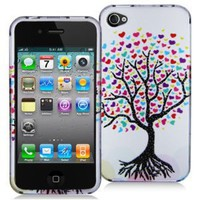 APPLE IPHONE 4 DECORO BRAND PREMIUM PROTECTOR CASE - WISHING TREE