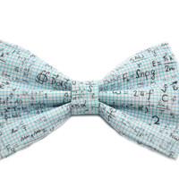 Math Equation Bow Tie - with Adjustable Strap