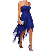 Tierra-Cobalt Prom Dress
