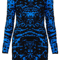 Knitted 3D Abstract Dress - Topshop USA