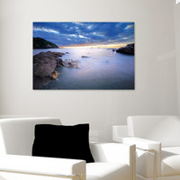 Ocean Bay Canvas Print - Awesome Seaside Decor