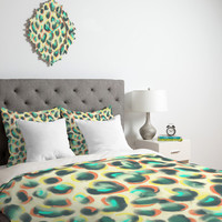DENY Designs Home Accessories | Jacqueline Maldonado Leopard Warm Duvet Cover