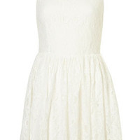 **Heart Lace Dress by Rare - Topshop