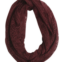 Open Weave Eternity Scarf | Shop Accessories at Wet Seal