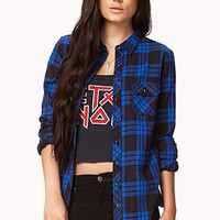 Grunge Plaid Shirt