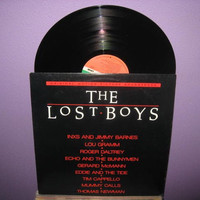 Rare Vinyl Record The Lost Boys Original by JustCoolRecords