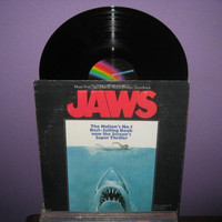 Vinyl Record Album Jaws Original Soundtrack LP by JustCoolRecords