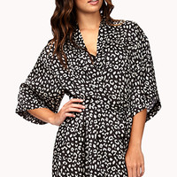 Spot-On Leopard Robe